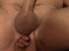 prostate massage, cum in mouth