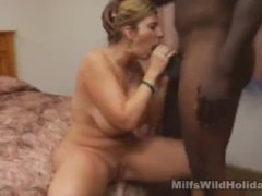 Vacationing MILF Sara Cock Sucks and Fucked