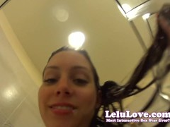 Lelu Love-You help Giantess Wash her Hair