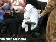 DANCINGBEAR - CFNM Office Party Cock Blowout (db9442)