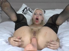 Wet Anal Farting & Gaping Anal Russian Slut Webcam