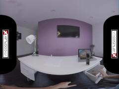 VR Cosplay X your GF Alexis Adams is Super Susan Storm VR Porn