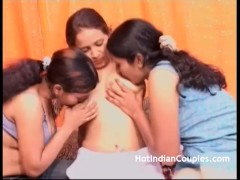 Indian Lesbian Party Finger Fucking Pussy