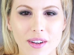 Face Fetish Fucking up Close and Personal with Blonde Katie Banks