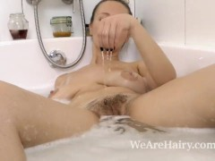Solena Sol Enjoys a Sexy Bath and Masturbates