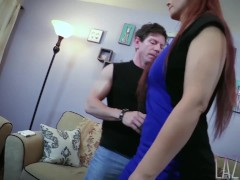 Blackmailed MILF Sister gets Stuffed by StepBro-MILF SYREN DE MER& Laz Fyre