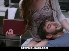 StepSiblings - Hot Ginger Stepsis Rides Cock