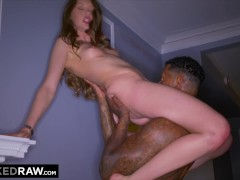 BLACKEDRAW Teen gets Dominated by BBC before going Home