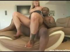 Slut Blonde MILF BBC Anal