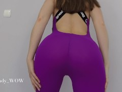 First Sextape in our new Apartment/ Grinding in Yoga Pants with Creampie