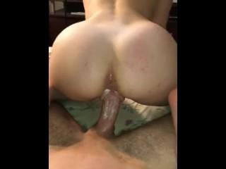nagy anális szex cső