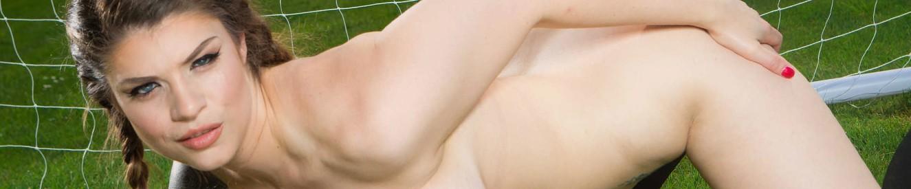 Naked women flashing from window