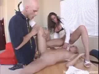 Black gangbang on white girl