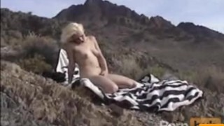 Pussy in the mountains Handjob fingering