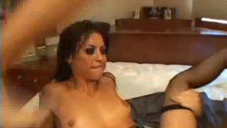 Her dirty jayna rips holes oso licking stockings