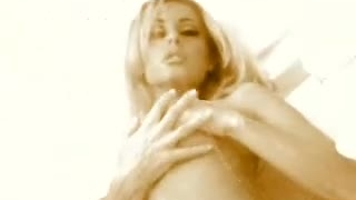 Sensual dark shower anita blonde softcore