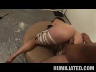 Juliette's Sex Swing Cum Bath