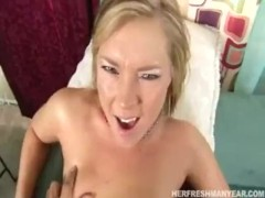 Hot Ass Blonde Ally Kay Gets Her Fat Pussy Fucked Hard And Creampied