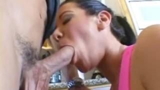 Jayden James sucking & fucking her personal trainer Deepthroat rough