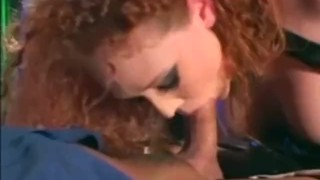 Audrey Hollander in a cop uniform and latex molesting a guy  uniform latex lingerie videos.com freckles gloves red head cop police officer sclip redhead fetish