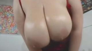 Big plumper then fucked tit tiffany gets oiled up big bbw