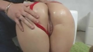 Big Tit Plumper Tiffany Gets Oiled Up Then Fucked