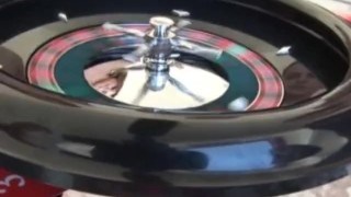 Game playing the pool roulette spicy by amateurs  outdoo hardcore