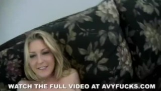 Hot Avy Rocks It Riding anal
