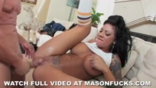 Pornstar Mason Moore gets arrested and fucked by a cop