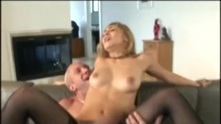 Roxy Jezel Deepthroating And Fucking In Thigh High Fishnet Stockings