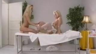 Two hot lesbians