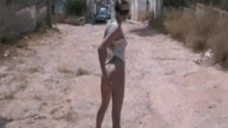 Ffentlichkeit in nackt der sclip outdoor