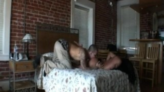 Savannah Stern gobbles down on some thick dick!