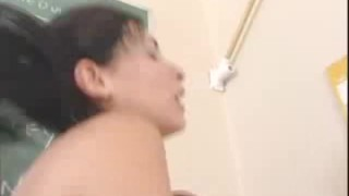 Tattooed slut Tristan pumping on top of her horny coach