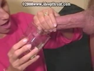 Family Farm Porn Heather - Perfect BJ, Drink cum from glass