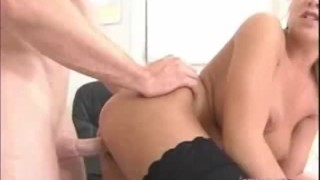 Busty blonde Jazmine gets her pussy screwed hard by the school dean Blowjob head