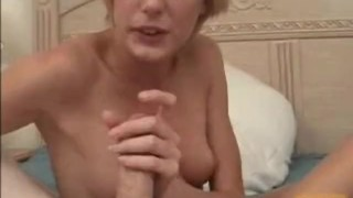 blonde pornstar with big forehead