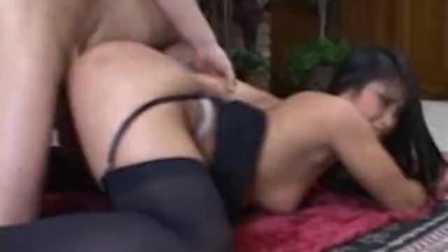 Cristina Aguchi gets into a raw fuck on the carpet