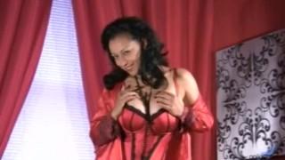 Big Titties Mature Stroking Pussy