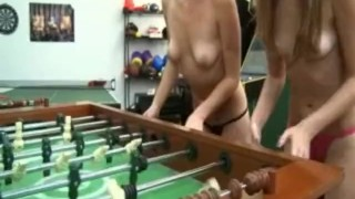 Young College Girls Strip Down & Suck Dick