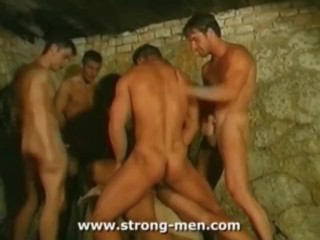 Muscle Line up Sex