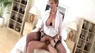 - Lady Sonia - Lady Sonia Milf In Stockings Loves Cock