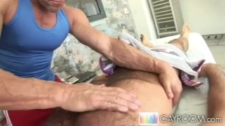 Oily cock meatp twinks massage