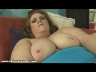 Fat Wife Julie Ann More Puts Big Dildo In Her Pussy