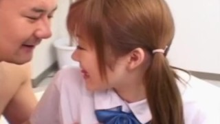 Japanese schoolgirl gets fucked by her teacher at home  javhq.com sclip panties hairy pussy teen pigtails asian blowjob small tits fetish schoolgirl hardcore japanese japan coed bubble butt