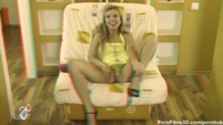 Masturbator blonde hot busty
