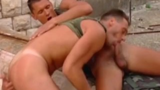 Horny Military Soldiers Doggy style