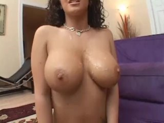 Perfect tits and ass gets hardcore fucked