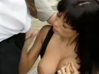 Hot maid anita dark gives bj