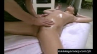 Hot big tit april gets wet lusty massage